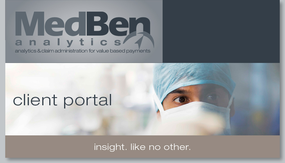 MedBen Analytics Welcome Image